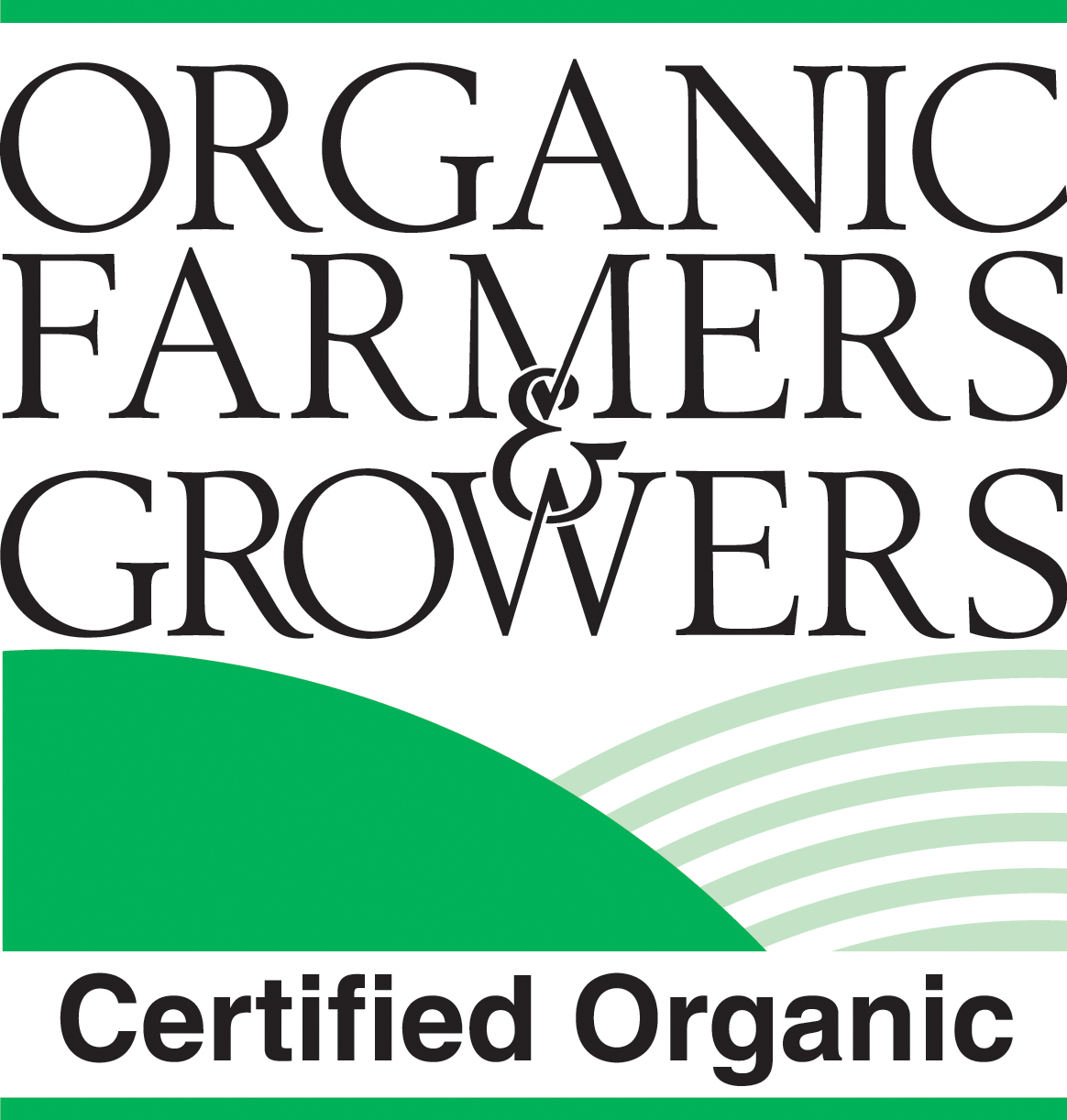 Certified Organic product