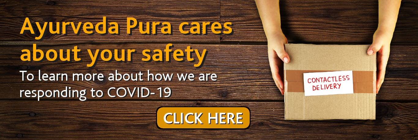 Ayurveda Pura cares about your health banner