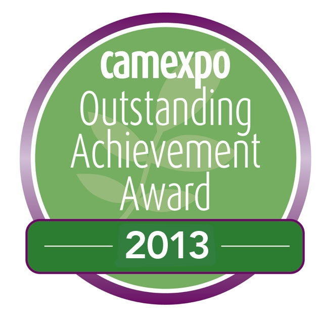 Outstanding Achievement Award by CAMExpo, the UK's leading exhibition provider for Complementary and Alternative Medicine