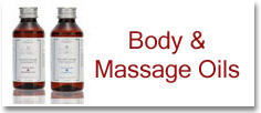 Authentic Body and massage oils